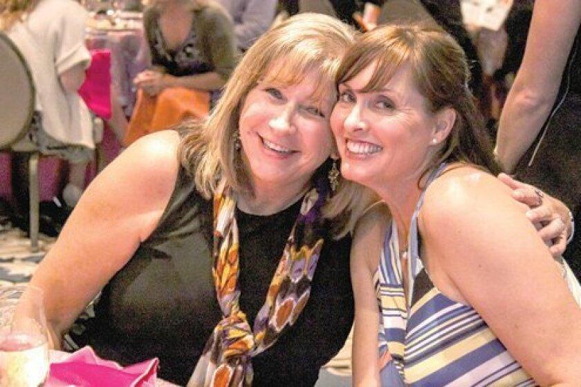 Board Chair Sheila Howe and Co-Chair Anita Norton. Photo by Stephanie Pillar