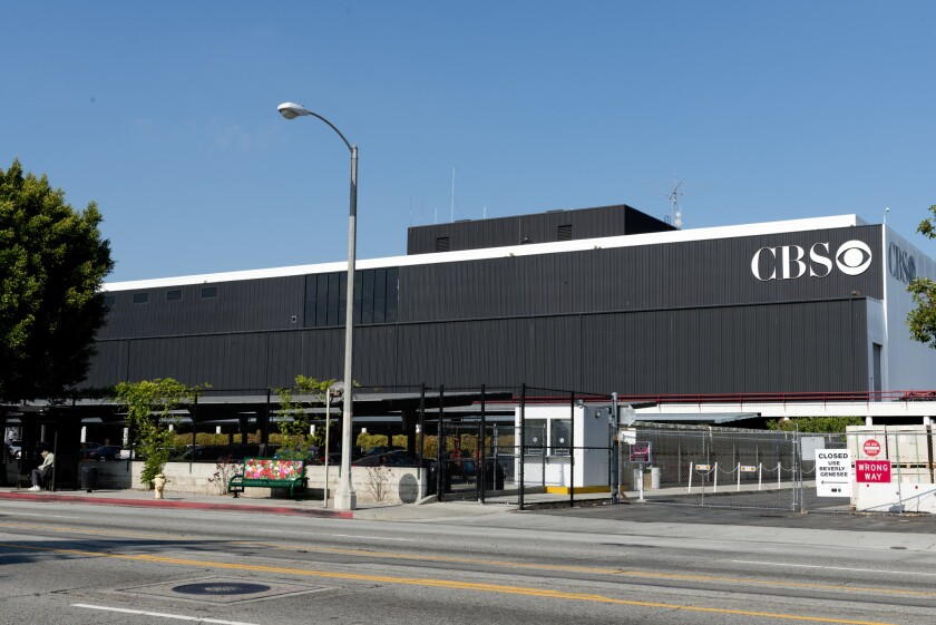 Television City studio complex, formerly known as CBS Television City, in the Fairfax district of Los Angeles.