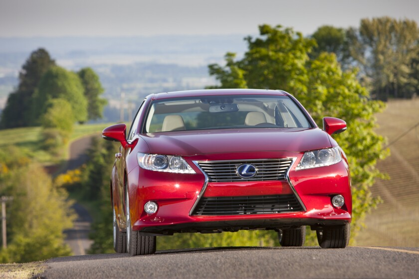 Lexus was the top-ranked brand in Consumer Reports' annual ranking of vehicles and automakers.