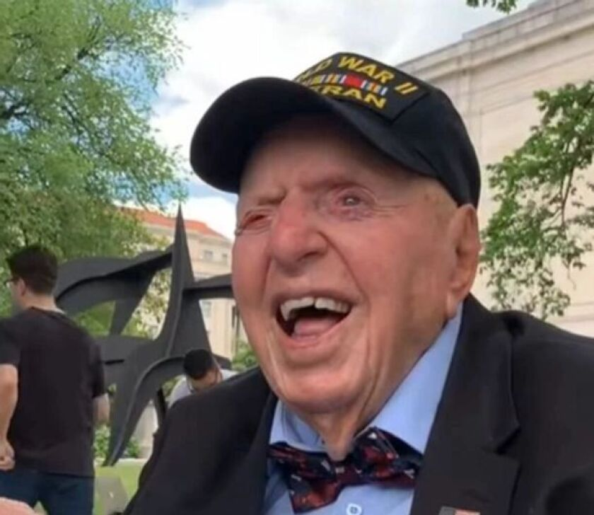 Sidney Walton, a U.S. Army veteran of World War II and longtime resident of the San Diego area