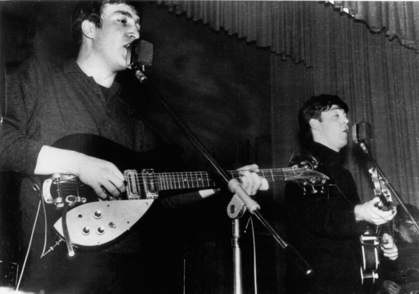 The Beatles in Hamburg, December 1962
