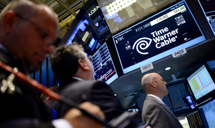 Time Warner Cable at New York Stock Exchange