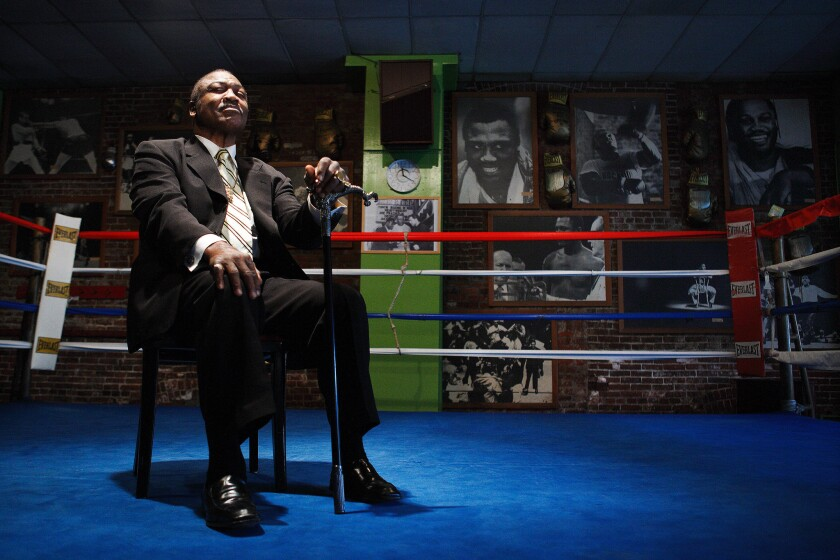 Joe Frazier Portrait Session