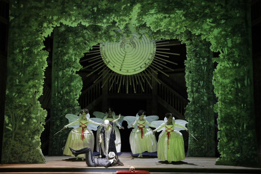 "Los Angeles Opera's ""Roberto Devereux."""