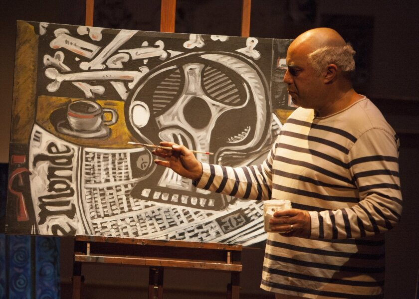 """Herbert Siguenza in """"A Weekend With Pablo Picasso."""""""