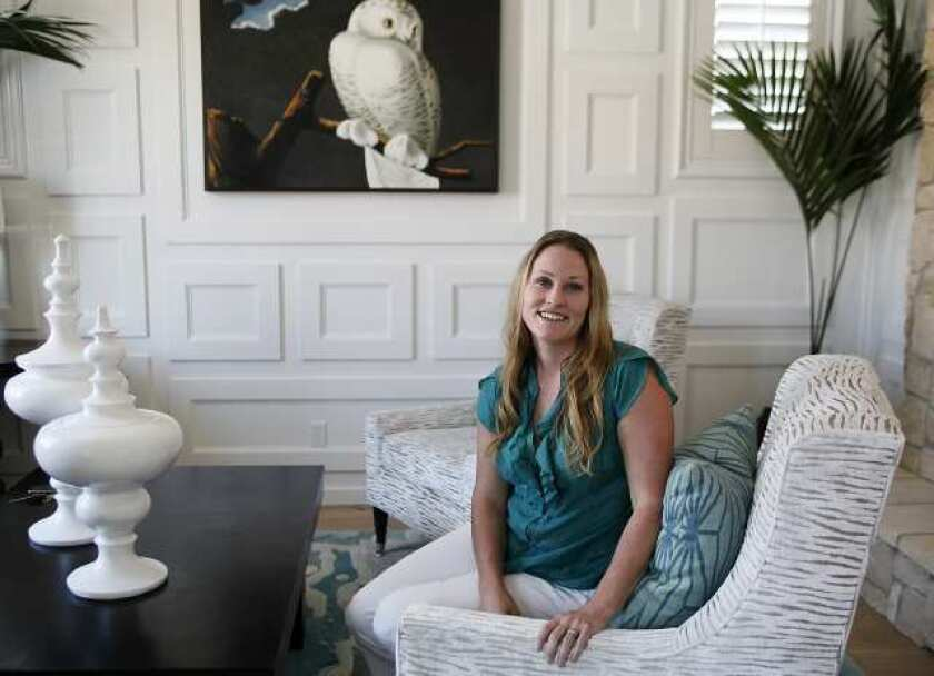 """Costa Mesa interior designer Lindsay Espinoza's work is going to be featured on an episode of HGTV's """"Showhouse Showdown""""."""