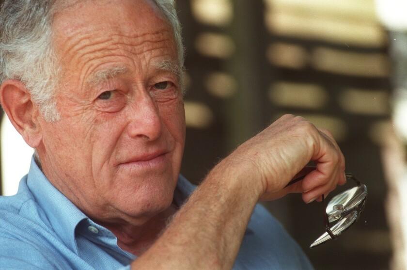 Author James Salter in 1997. He died Friday at age 90.