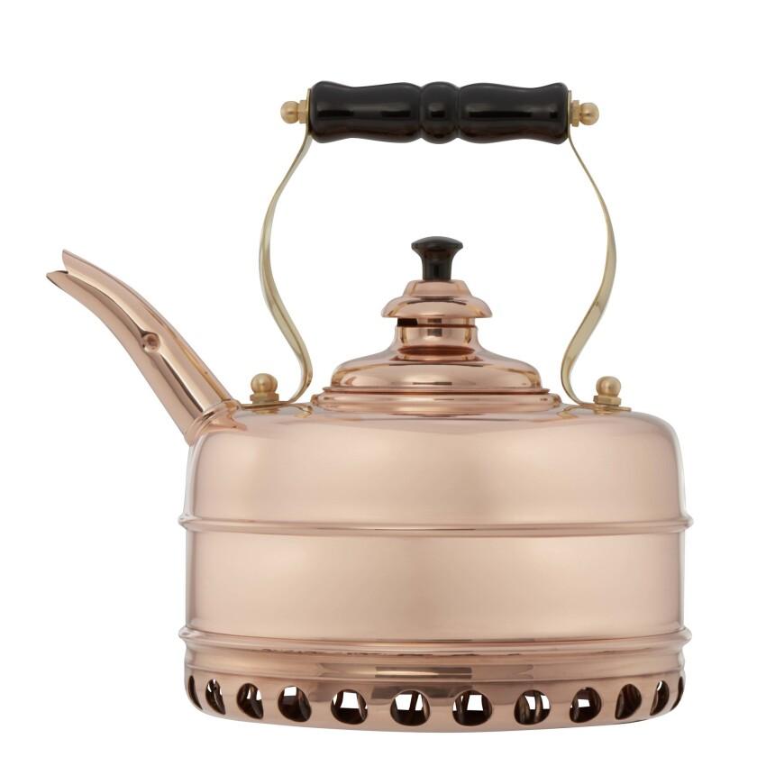 Copper tea kettle from Newey & Bloomer. Credit: Newey & Bloomer