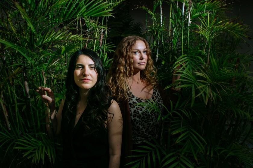 Marllee Della and Amanda Albrecht
