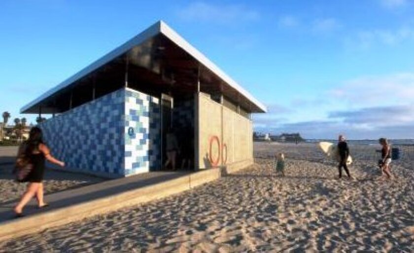 The Ocean Beach comfort station has been nominated for an Orchid.