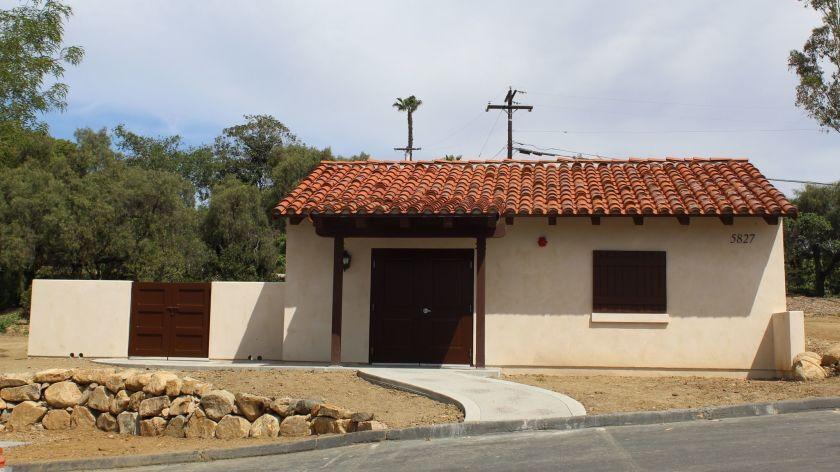 The Rancho Santa Fe Connect hub at the RSF Golf Club.
