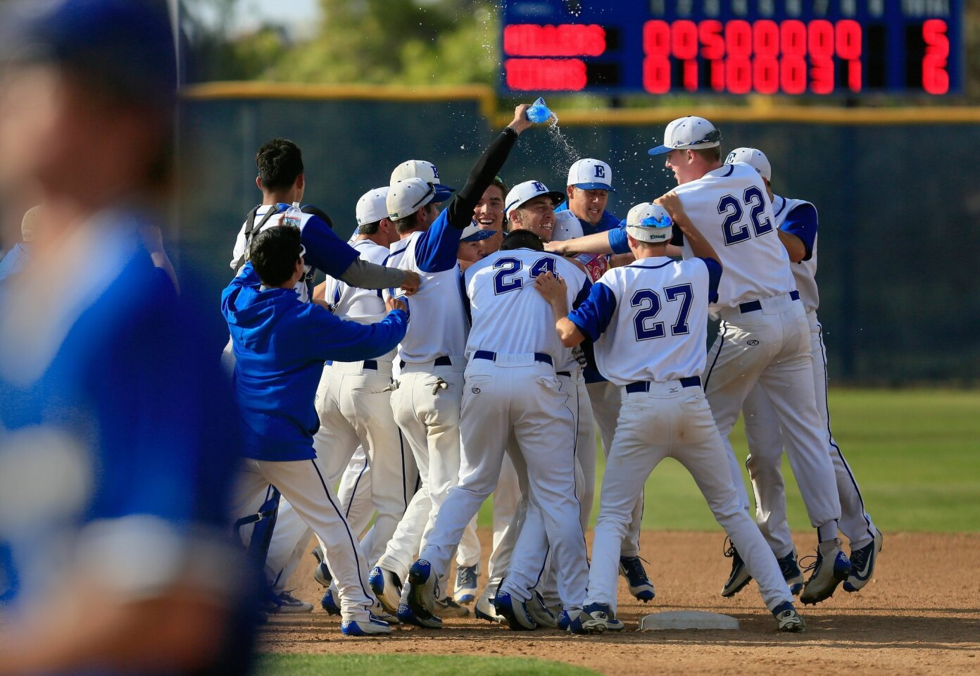 Eastlake vs Grossmont High School playoffs 05/25/2016