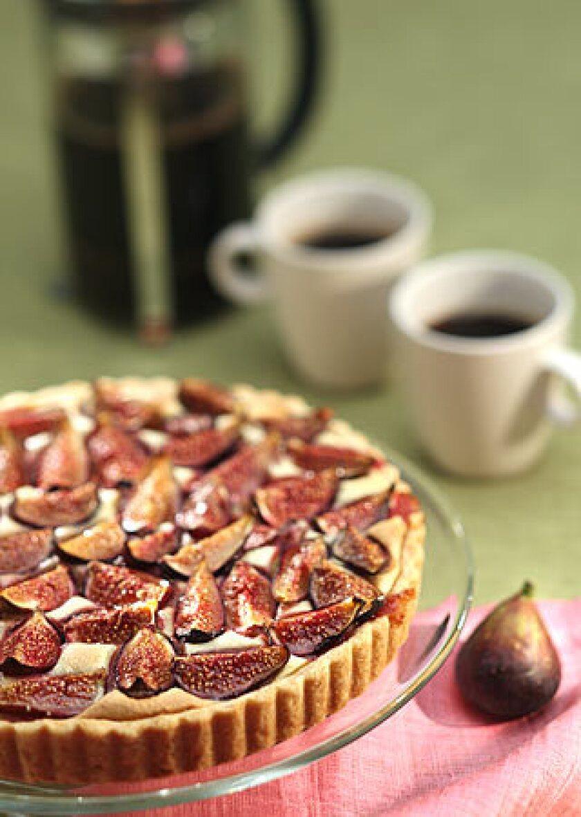 Recipe: fig frangipane tart