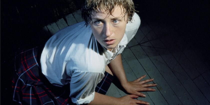 """""""Untitled #92,"""" Cindy Sherman, 1981. The artist will be the subject of the Broad museum's first special exhibition, opening June 11."""