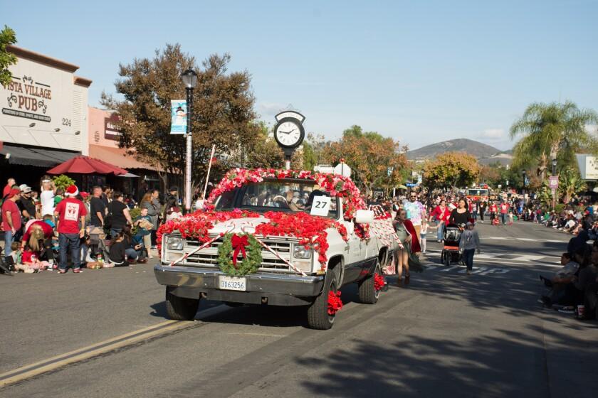 A photo of Vista Christmas Parade
