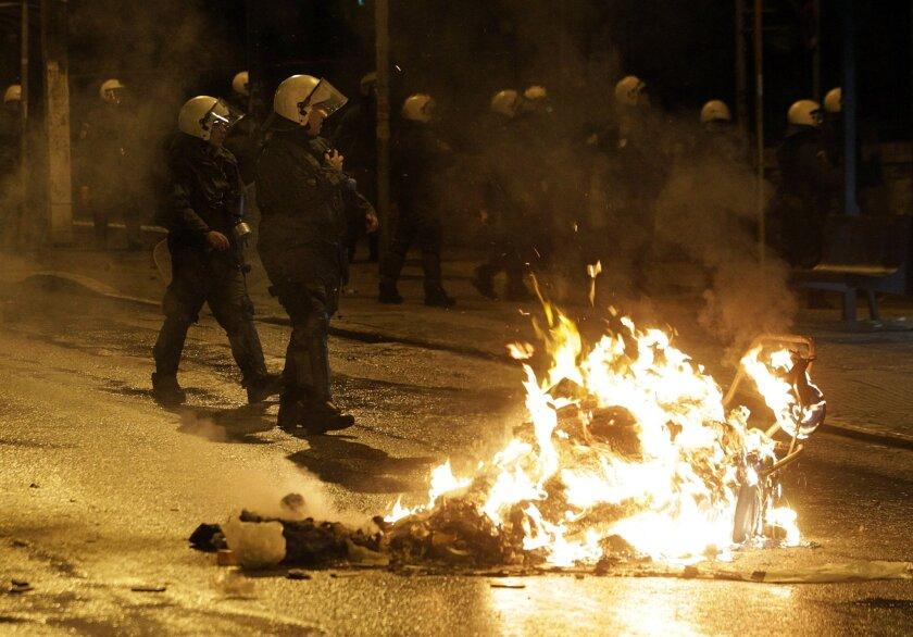 Greece violence