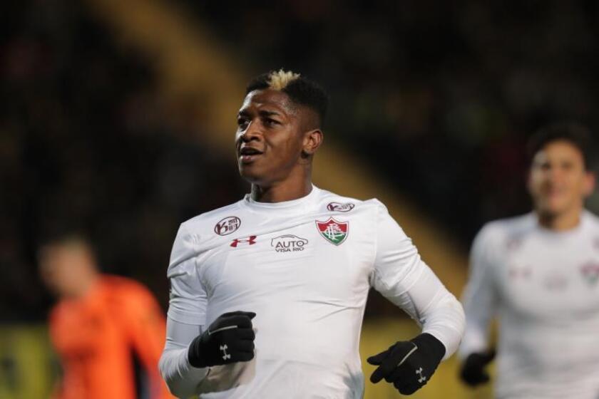 Yony González, jugador de Fluminense. EFE/ José Jácome/Archivo