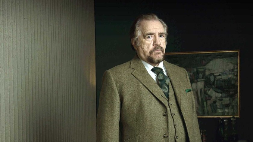 "Brian Cox in ""The Game"" on BBC America."