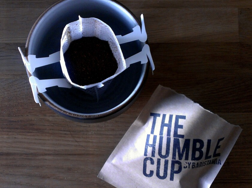 The Humble Cup is a dripper and filter in one.