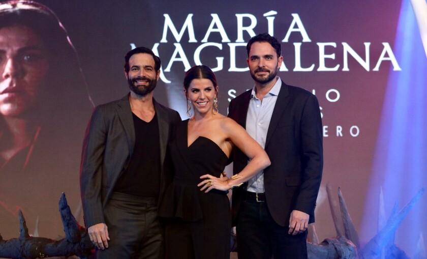 María Fernanda Yepes y Manolo Cardona, protagonizan María Magdalena.