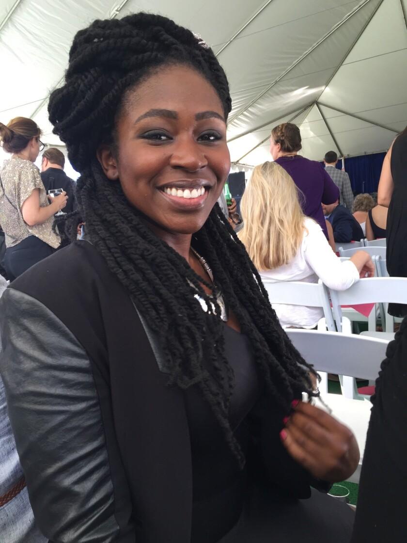 Singer Tori Boyd