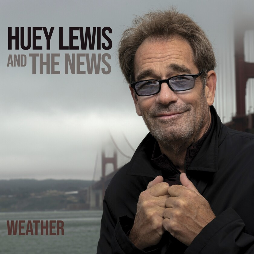 """This cover image released by BMG shows """"Weather"""" by Huey Lewis and The News. (BMG via AP)"""