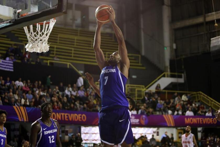En la imagen, el jugador de la selección de República Dominicana, Sadiel Rojas. EFE/Archivo