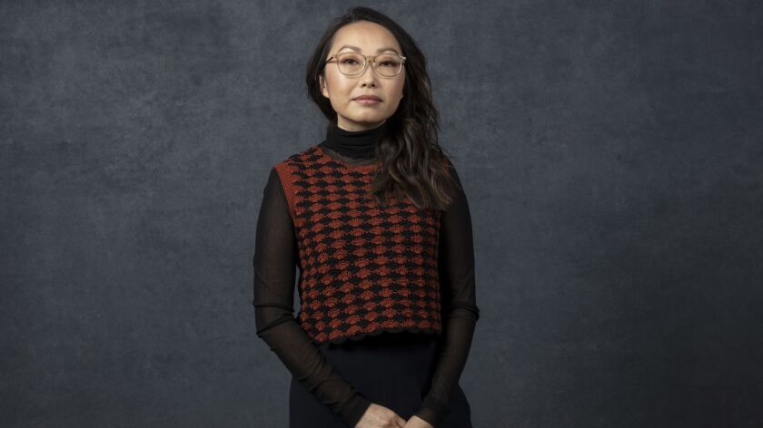 "PARK CITY, UTAH -- JANUARY 26, 2019 -- Director/writer Lulu Wang, from the film, ""The Farewell,"" pho"