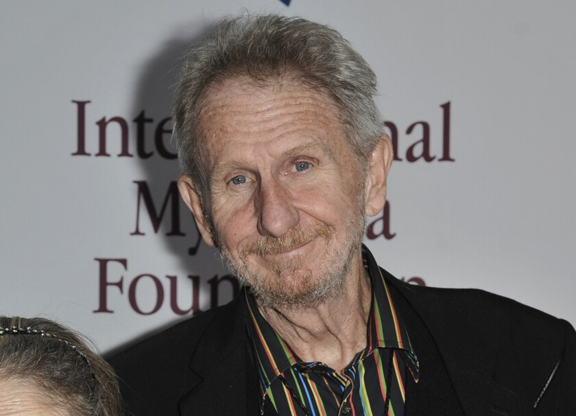 "FILE - This Nov. 9, 2013, file photo shows Rene Auberjonois at the International Myeloma Foundation 7th Annual Comedy Celebration in Los Angeles. Auberjonois, a prolific actor best known for his roles on the television shows ""Benson"" and ""Star Trek: Deep Space Nine"" and his part in the 1970 film ""M.A.S.H."" playing Father Mulcahy, died Sunday, Dec. 8, 2019. He was 79. (Photo by Richard Shotwell/Invision/AP, File)"