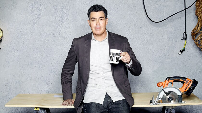 """Adam Carolla and Friends Build Stuff Live"" on SPIKE."
