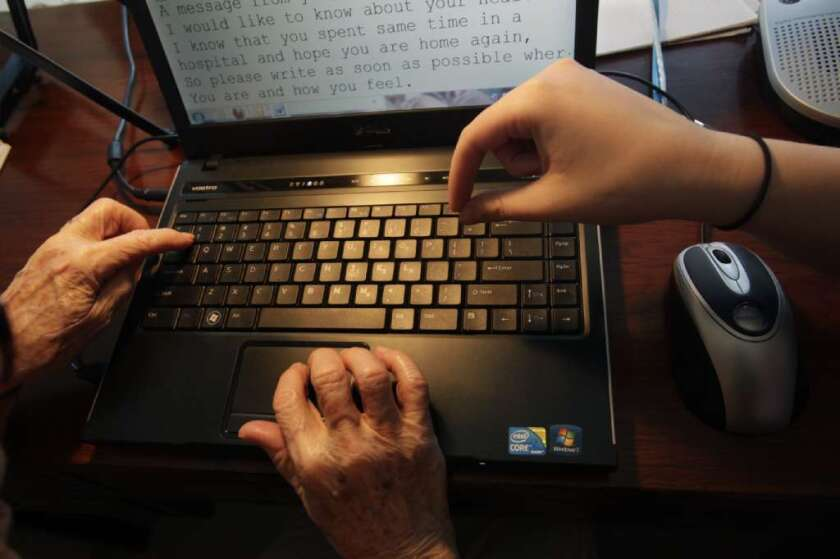 Elderly brain aging, cognitive crafts, computer use
