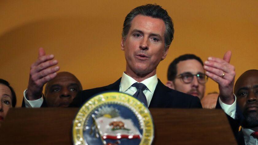 Governor Gavin Newsom Announces He Will Sign Moratorium On Executions In California