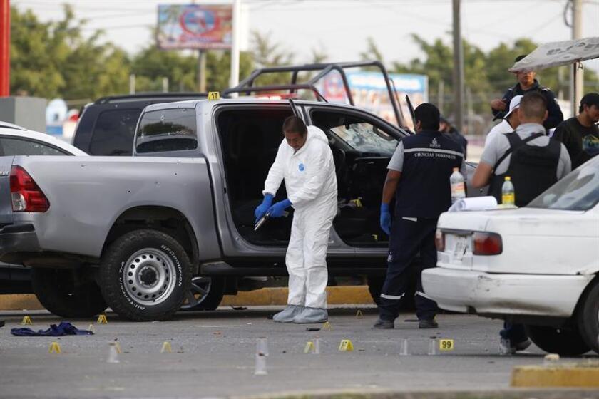 La violencia en México plantea riesgos de crédito cada vez mayores para las empresas y los expande a Gobiernos locales y regionales, alertó este martes la agencia calificadora Moody's. EFE/Archivo