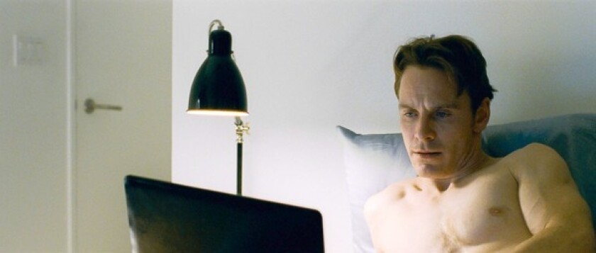 """Michael Fassbender in """"Shame,"""" rated NC-17."""