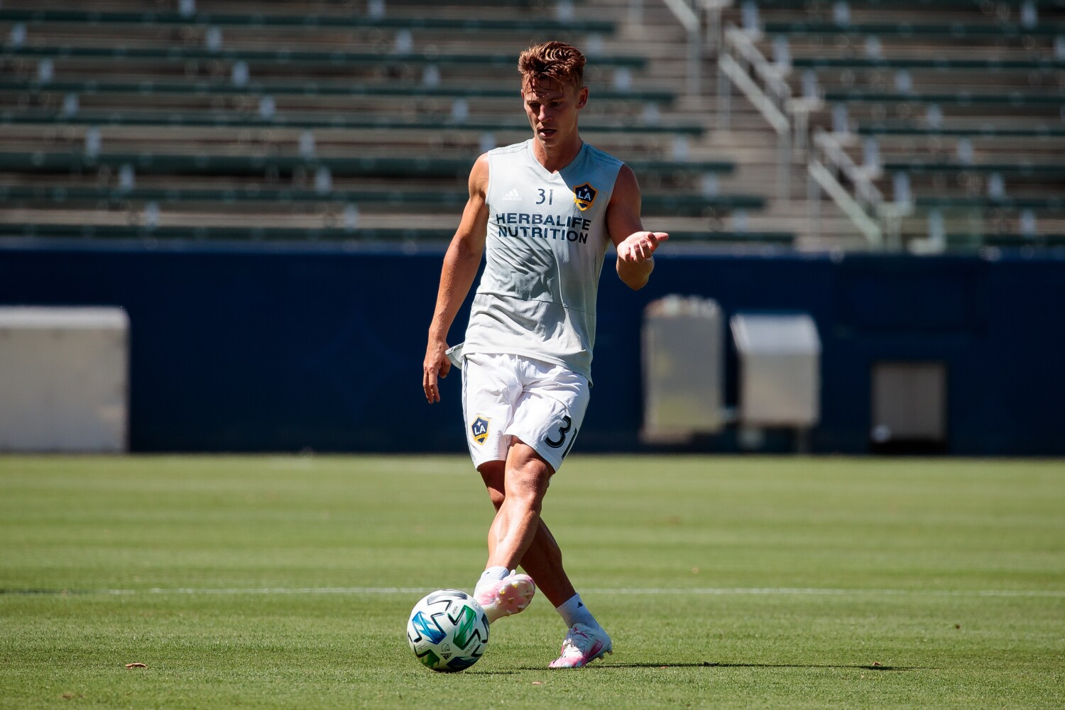 Galaxy's Gordon Wild is ready to take his versatile acts to playing field