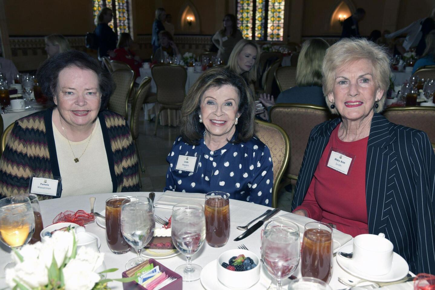Pam Wasserman, Linda Masters, Mary Ann Smith