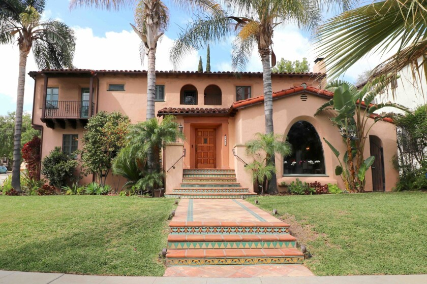 "The Jernegan House, a 1931 Spanish Colonial Revival home, is one of six homes featured on the Glendale Historical Society's ""Royal Revivals"" Home Tour on Sept. 30."