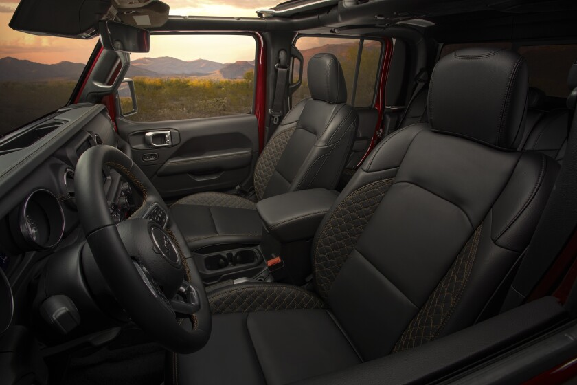 2020 Jeep Gladiator High Altitude features a full leather luxur