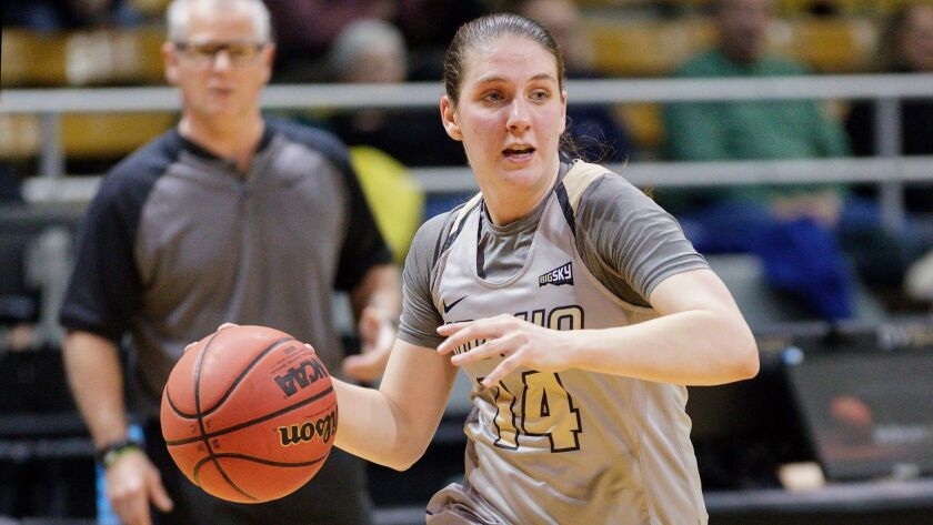 Taylor Pierce, Idaho women's basketball