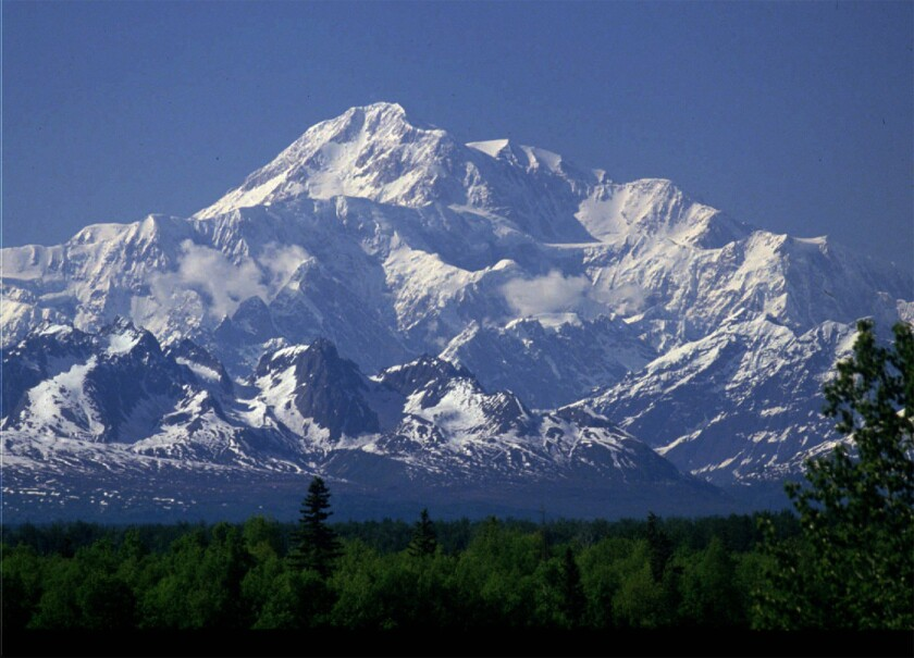 There's a move to rename Mt. McKinley, the highest peak in North America, Denali, as it is known locally and by the state of Alaska. Ohio, home state of namesake William McKinley, says hold on a minute.