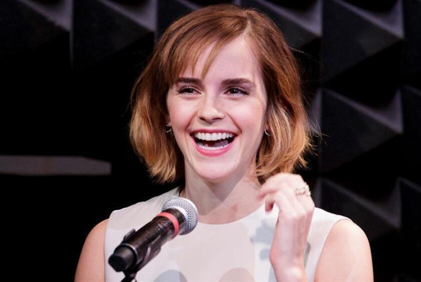 """La actriz Emma Watson será una de las protagonistas de la nueva versión de """"Little Women"""", que prepara la directora e intérprete Greta Gerwig, al sustituir a Emma Stone en el elenco de esta cinta, informó hoy el medio especializado Variety. EFE/ARCHIVO"""