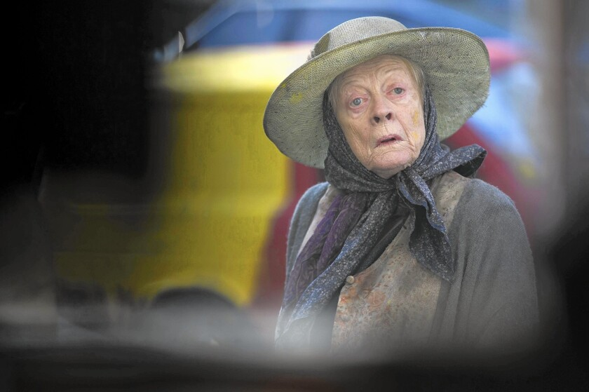 Maggie Smith looks back at early typecasting. It isn't what you think.