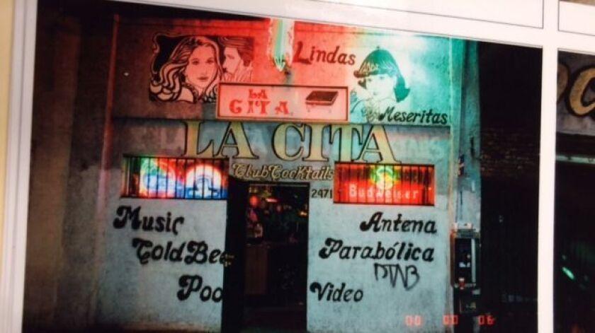 La Cita bar, where owner Alfredo Trevino was stabbed 104 times on Dec. 17, 2001.