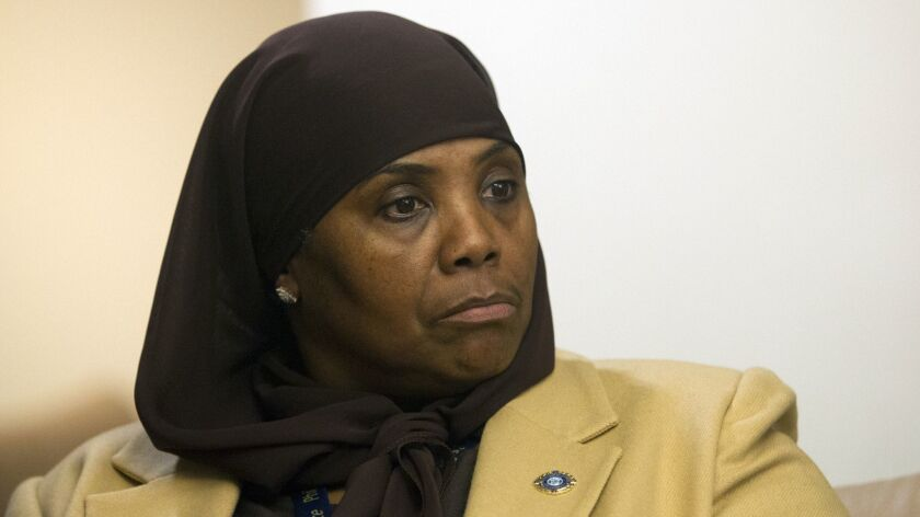 "Movita Johnson-Harrell, the first female Muslim member of the Pennsylvania House of Representatives, said Tuesday a colleague's prayer used ""Jesus as a weapon."""