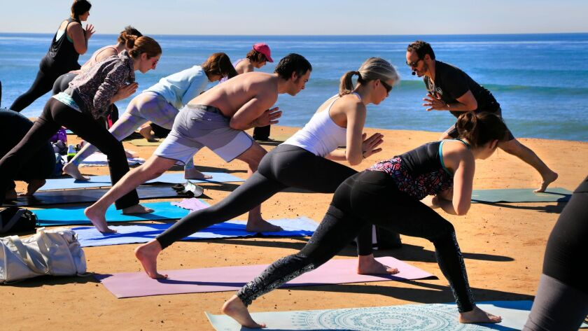 The 2018 San Diego Yoga Festival features yoga for kids, pets, beginners and everyone in between from March 9 to 12 at Portwood Pier Plaza in Imperial Beach.
