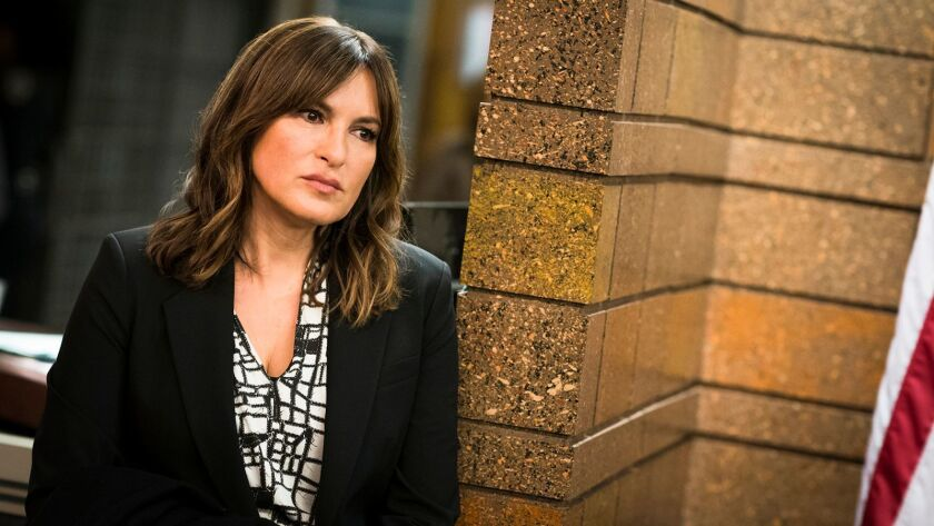 "Benson (Mariska Hargitay) and the squad investigate an assault at a protest on a new ""Law & Order: Special Victims Unit"" on NBC."