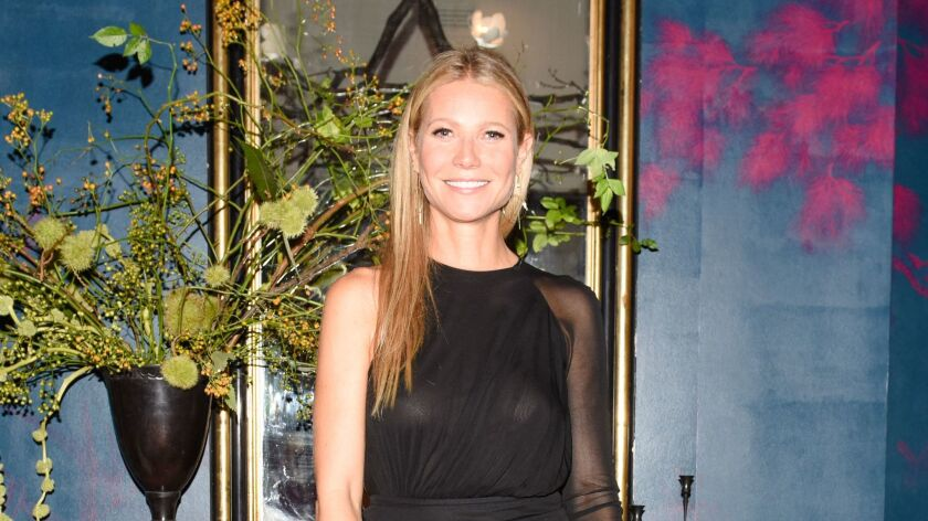 GWYNETH PALTROW AND CHRISTIAN LOUBOUTIN FETE THE OPENING OF GOOP LAB : AND UNVEIL THE GOOP X CHRISTIAN LOUBOUTIN CAPSULE COLLECTION