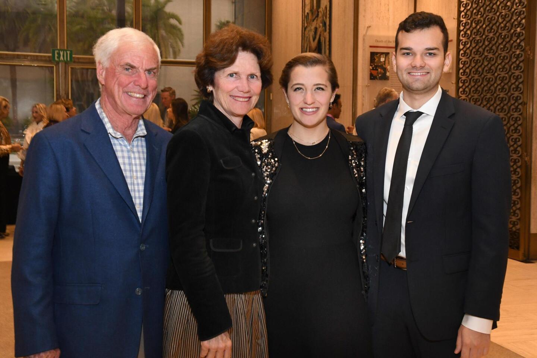 John and Carrie O'Brien (she's PoP asst. treasurer & reservations chair), Michaela Lynott, Jon Romero