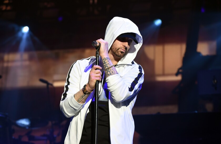 Eminem releases surprise new album 'Music to Be Murdered By.' (Not surprising: It's very dark)