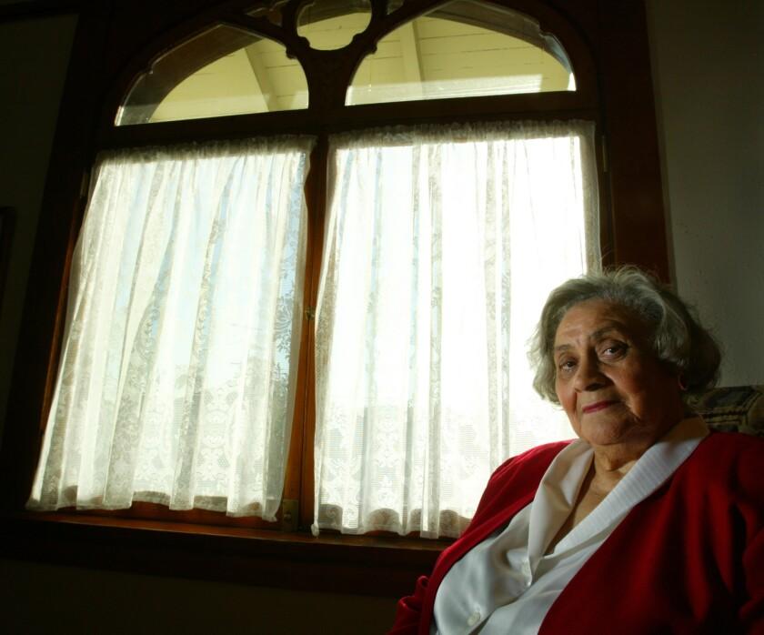 Essie Mae Washington-Williams, daughter of the late Sen. Strom Thurmond, in 2003.